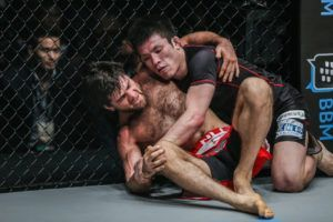 Shinya Aoki Stuns Marat Gafurov In Grappling Super-Match