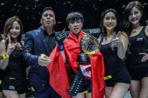 Xiong Jing Nan Claims Inaugural Strawweight World Title With TKO