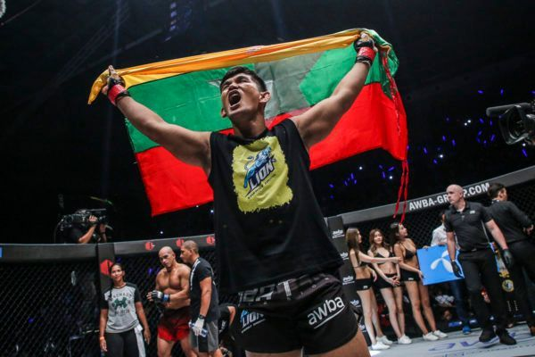 Mixed martial arts World Champion Aung La N Sang
