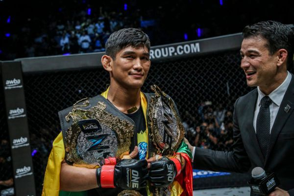 Aung La N Sang Defends His Gold For The First Time
