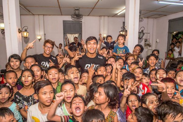 ONE Championship And Global Citizen's Efforts In Myanmar