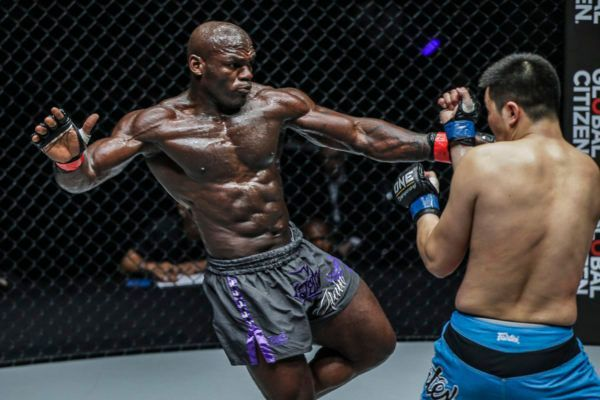 Alain Ngalani Shines In ONE: IRON WILL Prelims