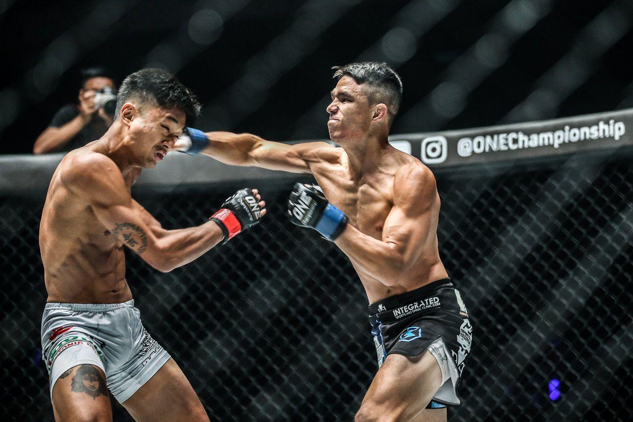 Australian martial artist Reece McLaren strikes in Malaysia