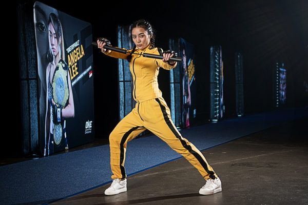 Thai superstar Rika Ishige dresses up as he iconic Bruce Lee