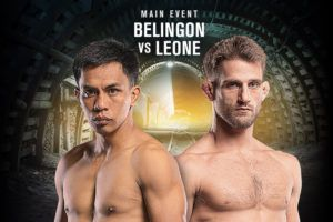 Belingon And Leone Are Prepared For An All-Out Thriller In Manila