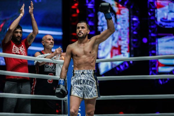 Multiple-time Muay Thai World Champion Fabio Pinca in ONE Super Series