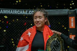 Angela Lee Defeats Mei Yamaguchi For The Second Time In Singapore
