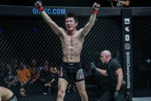 Shinya Aoki Swiftly Submits Rasul Yakhyaev