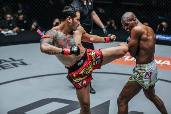 Chris Ngimbi VS Yodsanklai IWE Fairtex