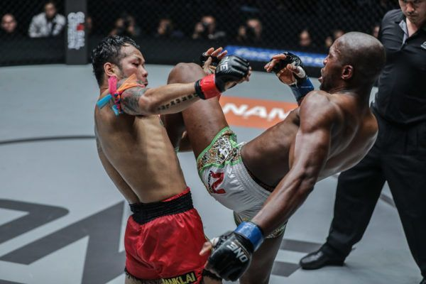 Yodsanklai IWE Fairtex Puts On A Show With Chris Ngimbi