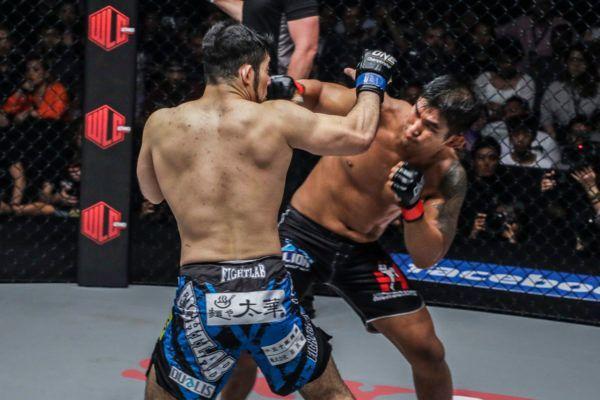 Ken Hasegawa VS Aung La N Sang