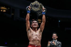 Geje Eustaquio Crowned Undisputed ONE Flyweight World Champion