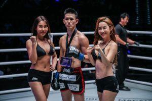 Yukinori Ogasawara Scores Sensational Spinning Back Elbow KO