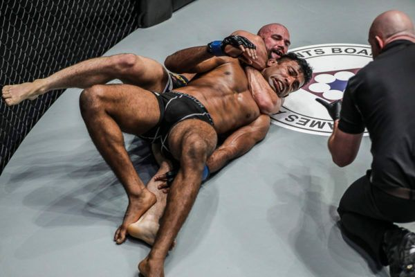 The Squeeze Of Garry Tonon Was Too Much For Rahul Raju