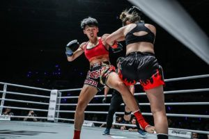 Kai Ting Chuang Is Unafraid Of Stamp Fairtex's Extensive Experience