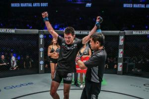 Shinya Aoki Unleashes Strikes For The First-Round Finish