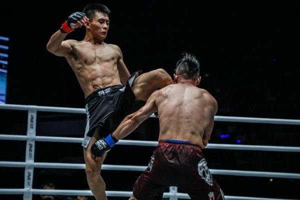 Zhao Zhi Kang Grabs A Guillotine And Gets A Third-Round Finish