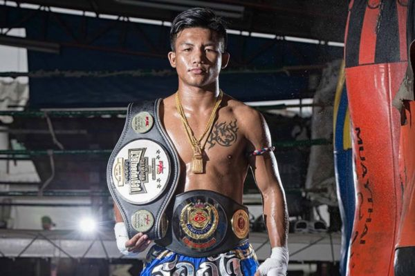 Rodtang Jitmuangnon Unleashes His Power On The Pads
