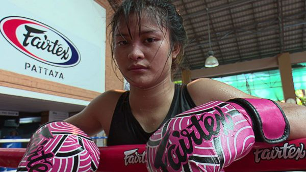 Stamp Fairtex Almost Hung Up Her Gloves