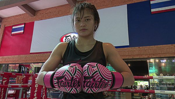 Stamp Fairtex Is Training Hard For Kai Ting Chuang