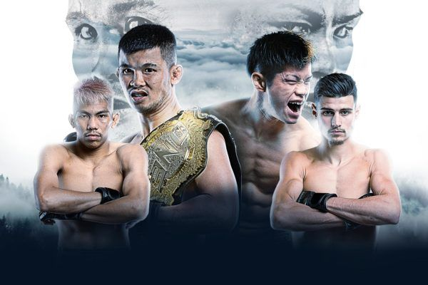 2 ONE Super Series World Title Bouts Set For ONE: WARRIORS OF LIGHT