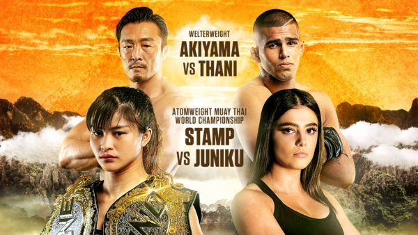 Stamp Vs Juniku, Akiyama Vs Thani Set For ONE: LEGENDARY QUEST In Shanghai