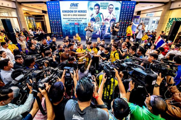 ONE Championship Holds ONE: KINGDOM OF HEROES Official Face-Off And Open Workout