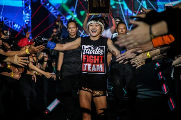 Stamp Fairtex's Plan To Become A Three-Sport ONE World Champion