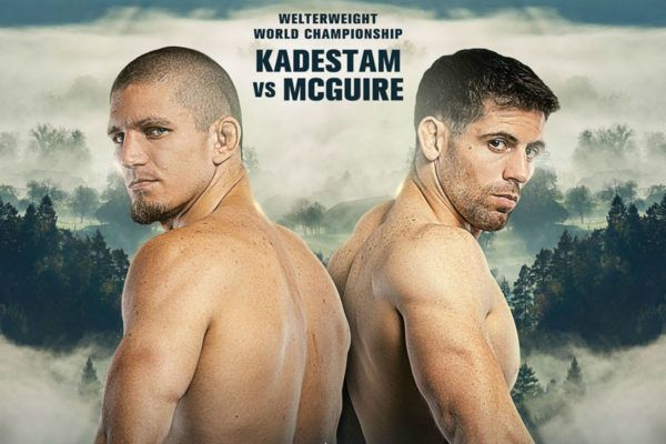 Zebaztian Kadestam To Face Tyler McGuire For Welterweight Gold