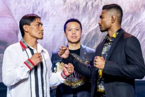Eduard Folayang And Amir Khan Square Off Ahead Of Title Match