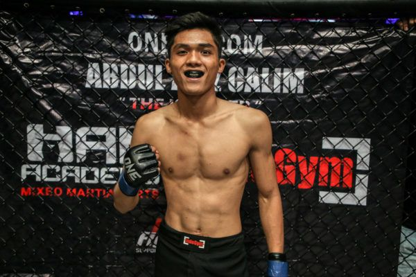 Indonesian mixed martial artist Aziz Calim is ready for his ONE Championship bout