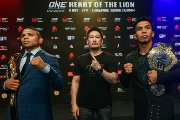 Champion VS Champion In The ONE: HEART OF THE LION Main Event