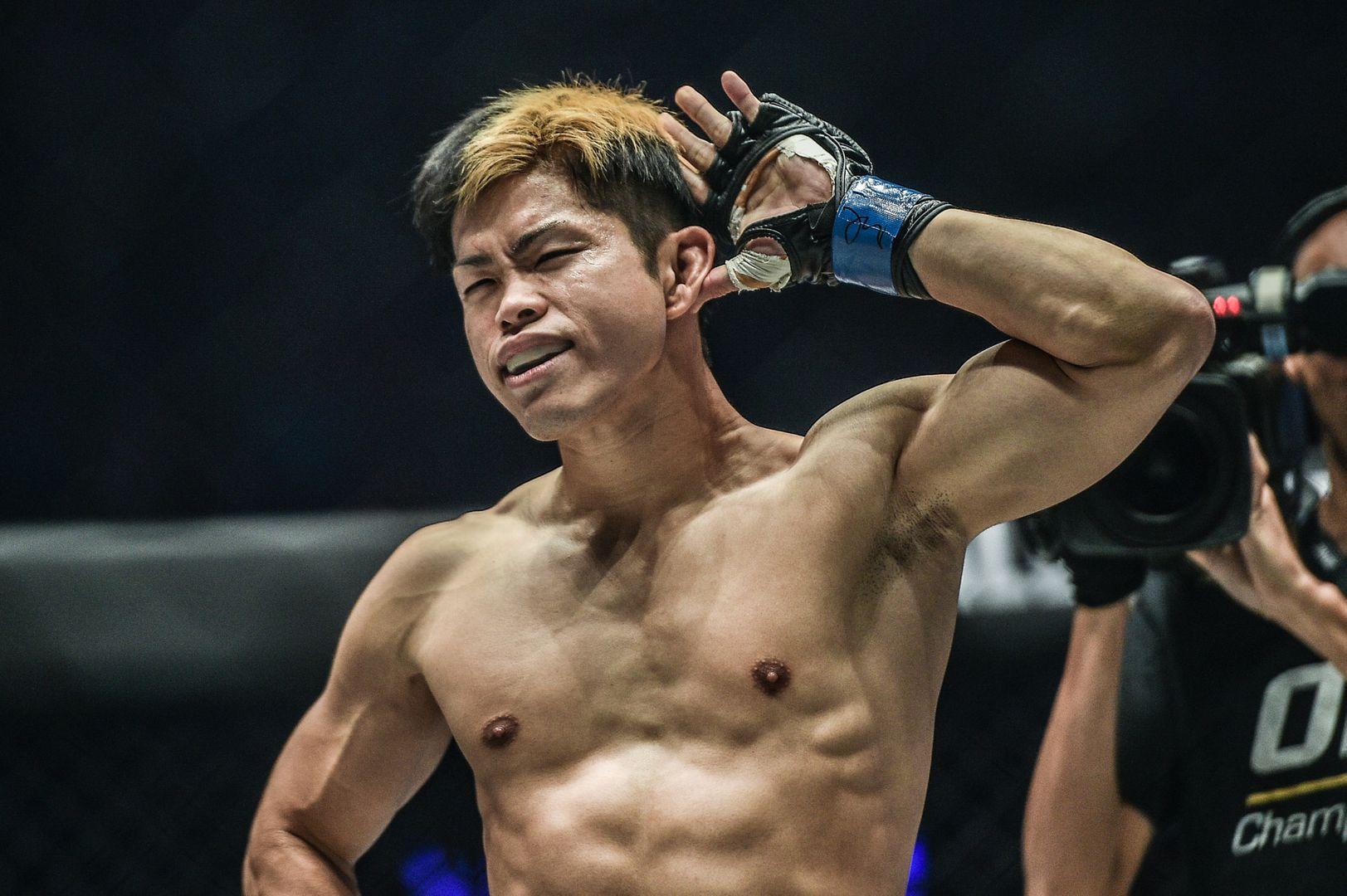 Japanese Muay Thai fighter Hiroaki Suzuki