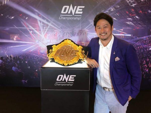 Hideyuki Hata Named President Of ONE Championship Japan
