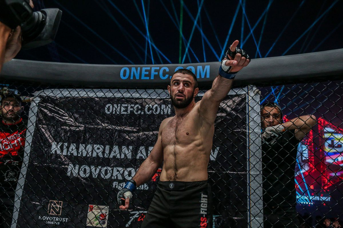 Kiamrian Abbasov Says Win VS Yushin Okami Can Bring World Title Shot