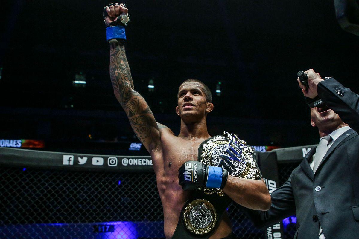 ONE Flyweight World Champion Adriano Moraes