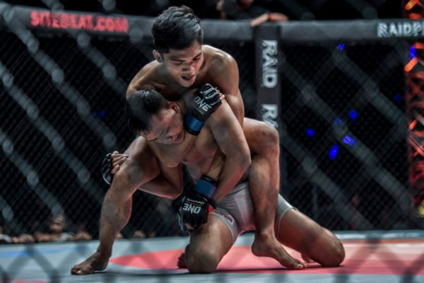 Aziz Calim Gets A First-Round Submission Victory In Jakarta