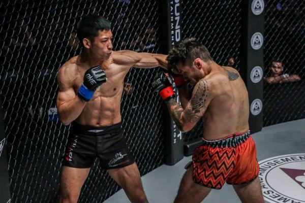 Hiroki Akimoto VS Josh Tonna