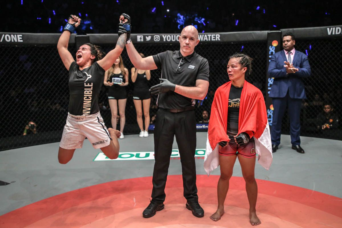 Puja Tomar defeats Priscilla Hertati Lumban Gaol at ONE: ETERNAL GLORY