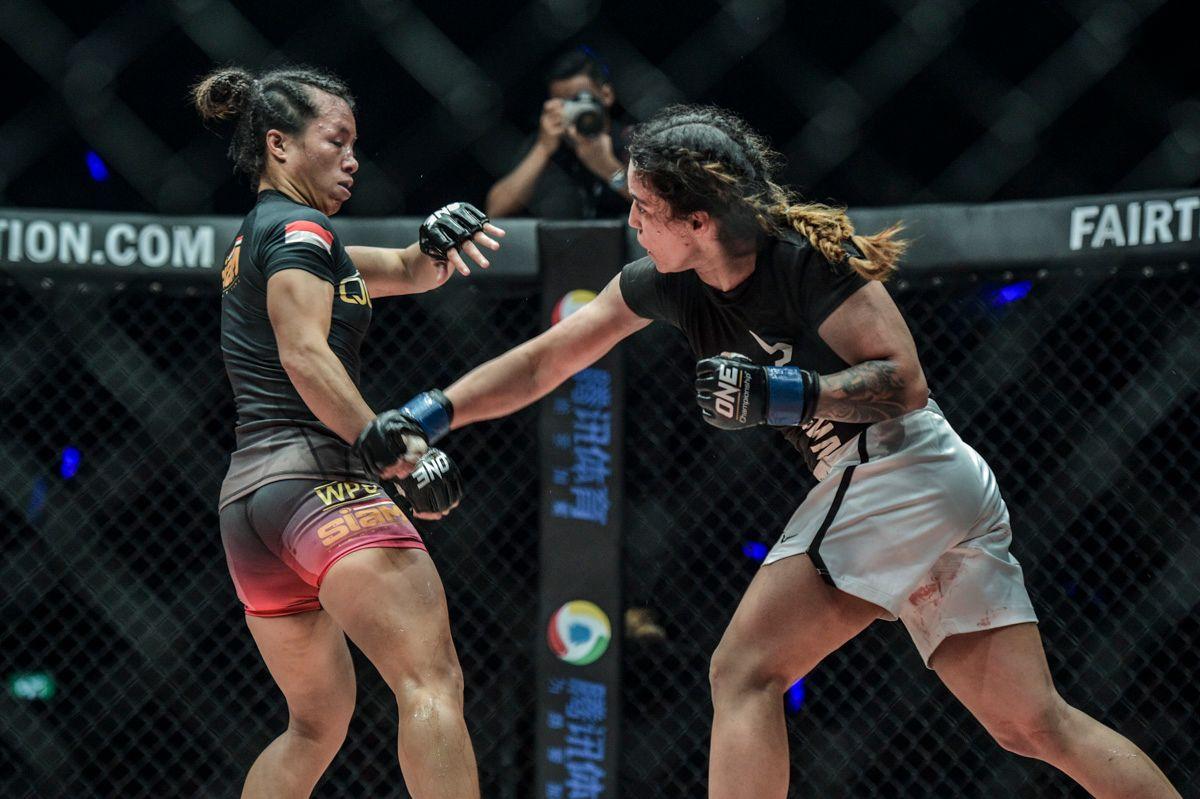 Puja Tomar defeats Priscilla Hertati Lumban Gaol at ONE: ETERNAL GLORY