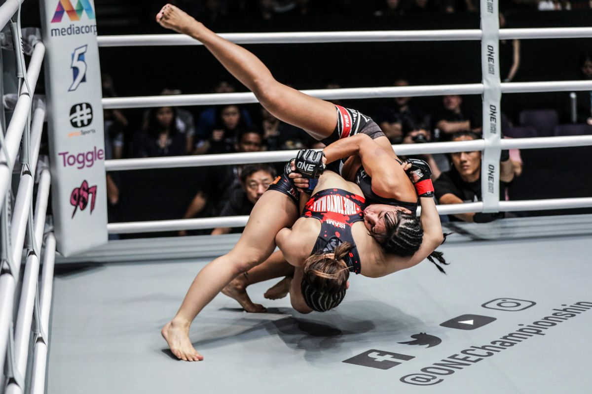 Ayaka Miura throws Laura Balin at ONE: CALL TO GREATNESS