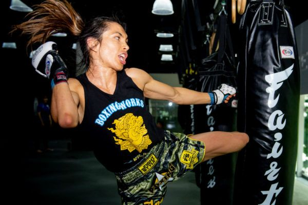 "Kickboxing and Muay Thai athlete Jaent ""JT"" Todd"