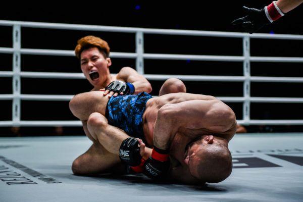 Vintage Masakazu Imanari In Action With First-Round Heel Hook Finish