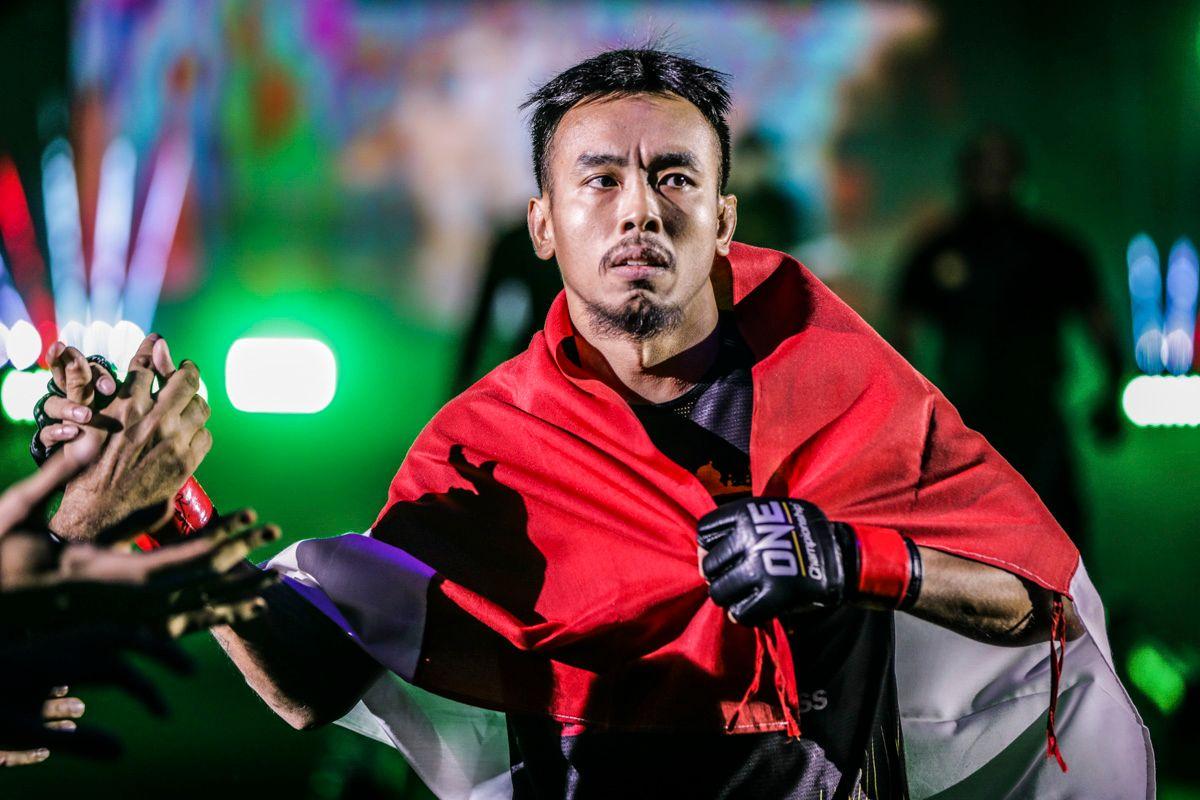 Indonesian mixed martial artist Rudy Agustian