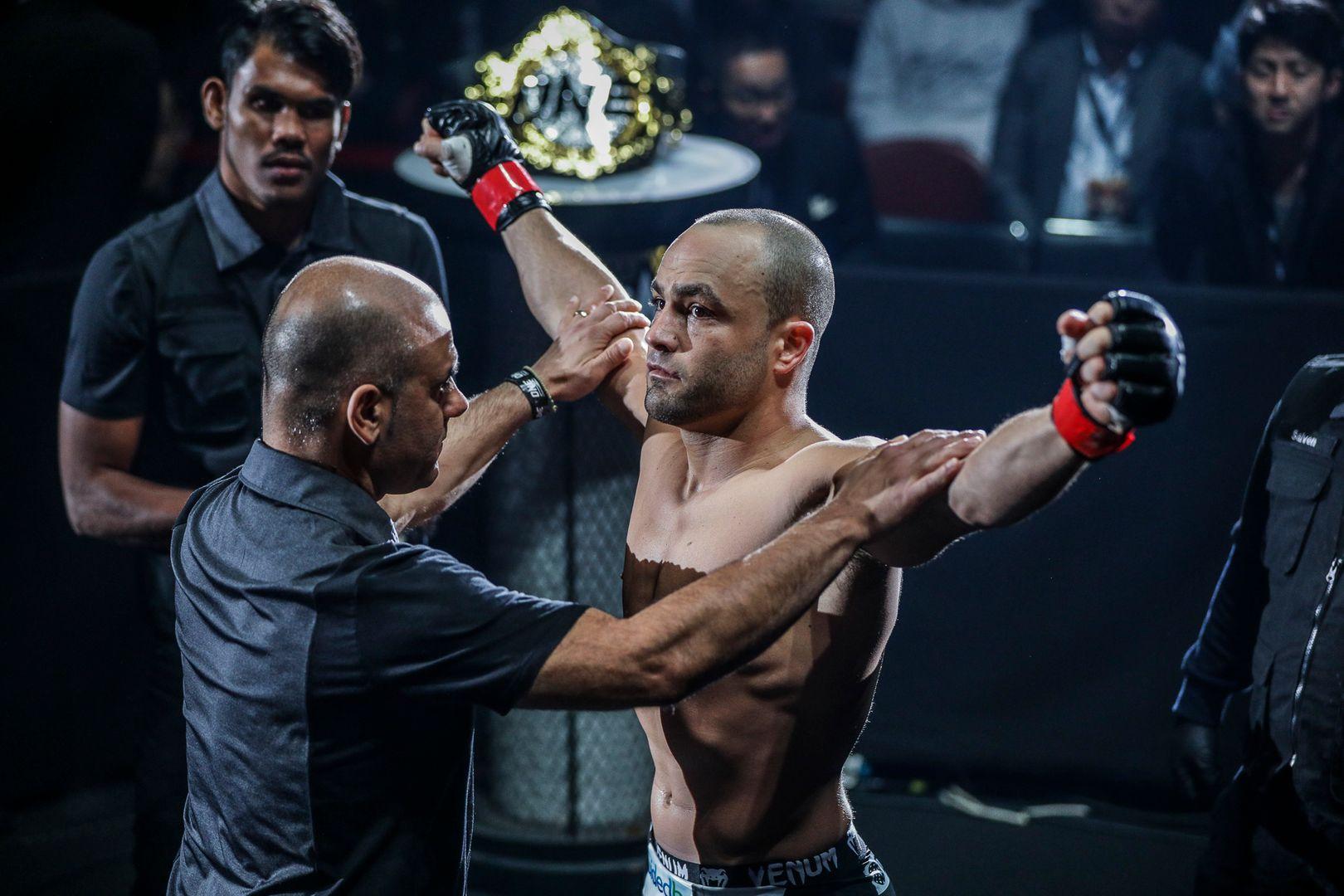 american martial arts legend Eddie Alvarez