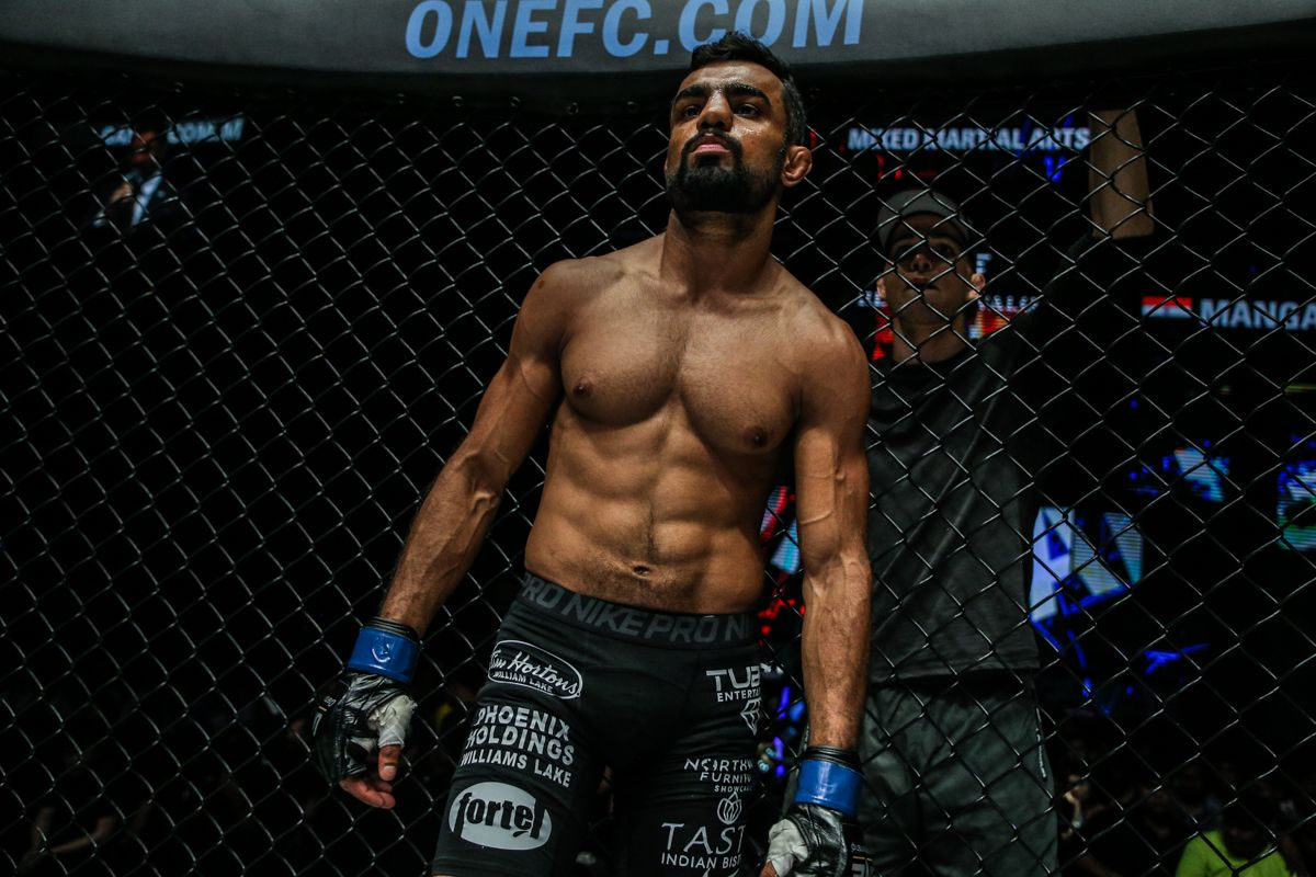 Canadian-Indian MMA figher Gurdarshan Mangat