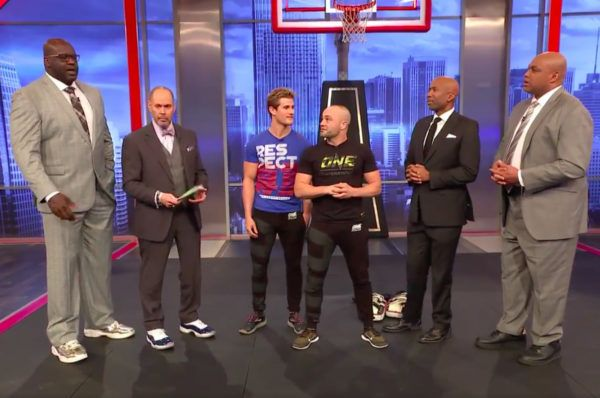 Eddie Alvarez And Sage Northcutt Appear On 'Inside The NBA'
