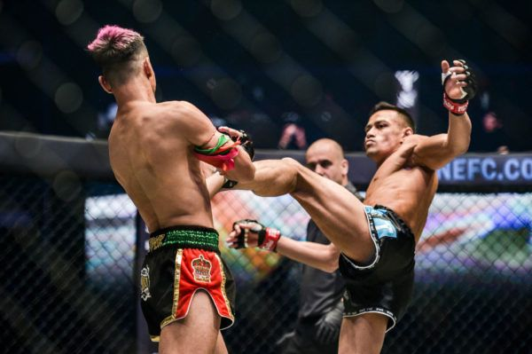Panicos Yusuf Showcases Muay Thai Mastery Against Mohammed Bin Mahmoud
