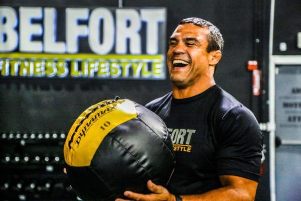 ONE Championship star Vitor Belfort works out