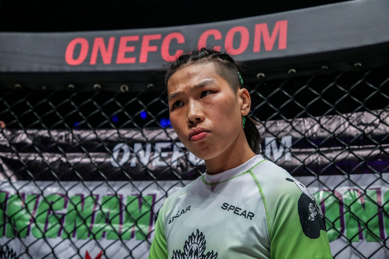 ONE Women's Strawweight World Champion Xiong Jing Nan ready for her battle with Angela Lee at ONE: A NEW ERA